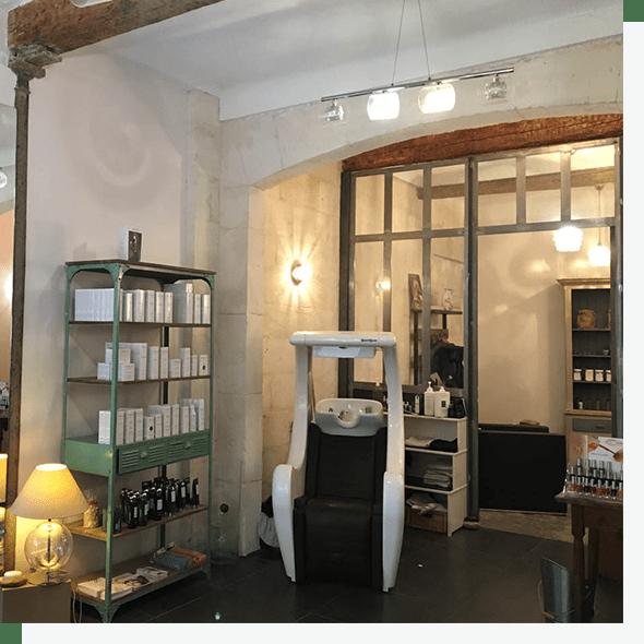 Salon de coiffure haut de gamme n mes ana s hardouin for Salon bio nimes